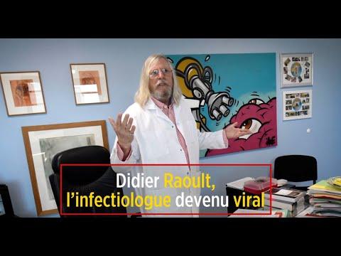 Didier Raoult, l'infectiologue devenu viral