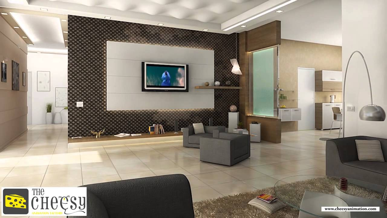 3d interior design 3d interior rendering 3d interior home design youtube - Interior design for home ...