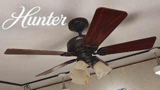 Hunter Beacon Hill Ceiling Fan | 1080p / Light Kit Remake