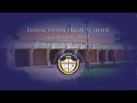Immaculata High School Class of 2020 Baccalaureate Mass