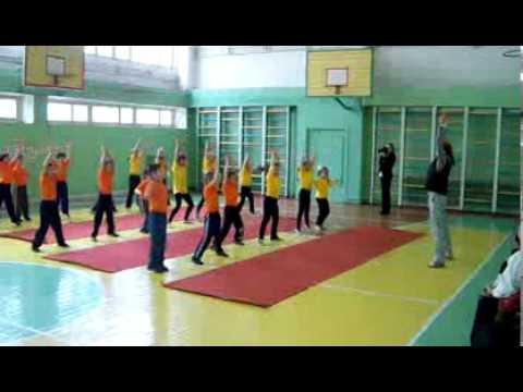 Урок физкультуры-1А-лицей Dacia