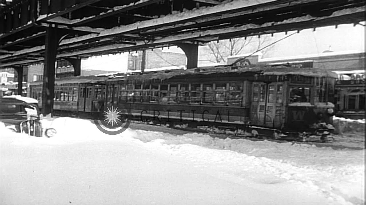 Blizzard Of 1947 New York Buried In Record 26 Inch
