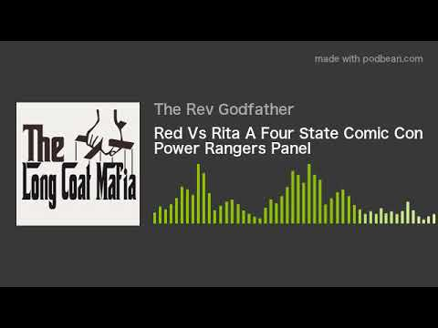 Red Vs Rita A Four State Comic Con Power Rangers Panel