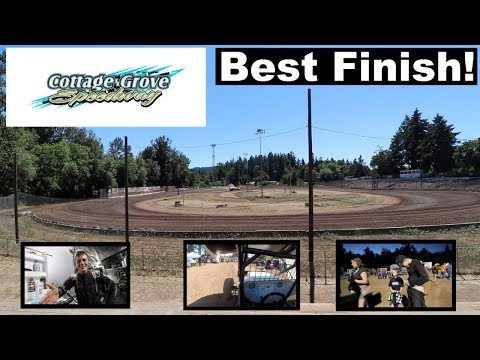 My Career Best Finish at Cottage Grove Speedway! (Sprint Car)
