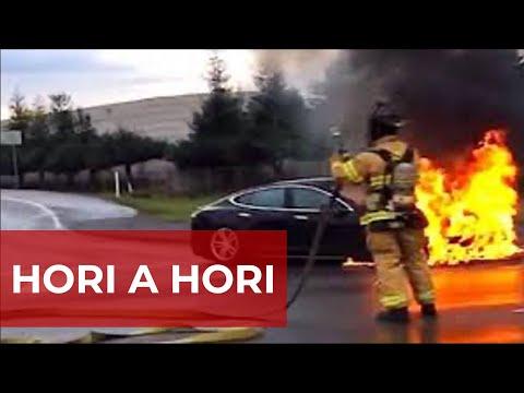 Elektromobily hoří a hoří ... | Teslacek