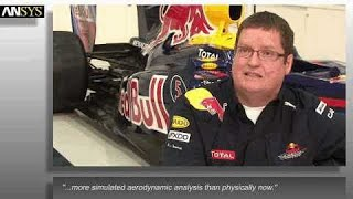 Red Bull Racing Formula 1 / F1 and ANSYS Engineering software