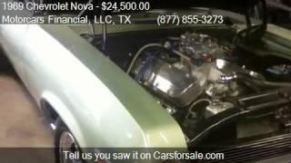 1969 Chevrolet Nova  for sale in Headquarters in Plano, TX 7