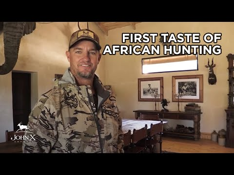 First Taste Of African Hunting | Trophy House Taxidermy | John X Safaris