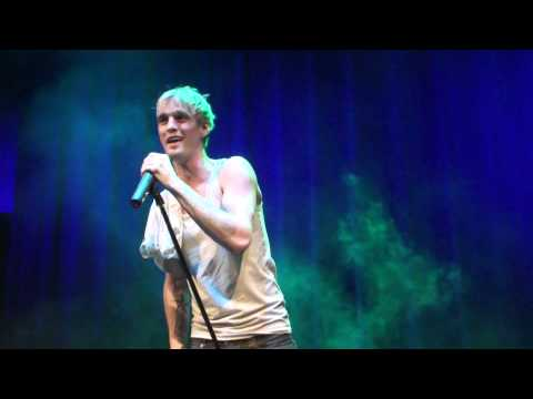 Aaron Carter at Showcase Live (1/12/12) I'm All About You