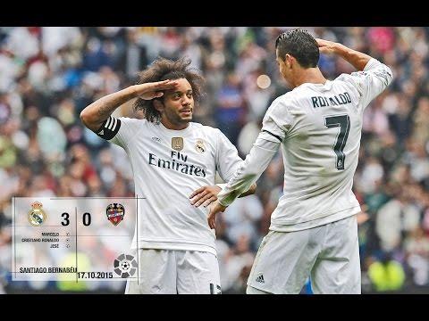 Real Madrid 3-0 Levante (La Liga 2015/16, matchday 8)