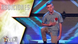 Raúl conquista a su amor platónico… ¡María Parrado! | Audiciones 6 | Got Talent España 2017