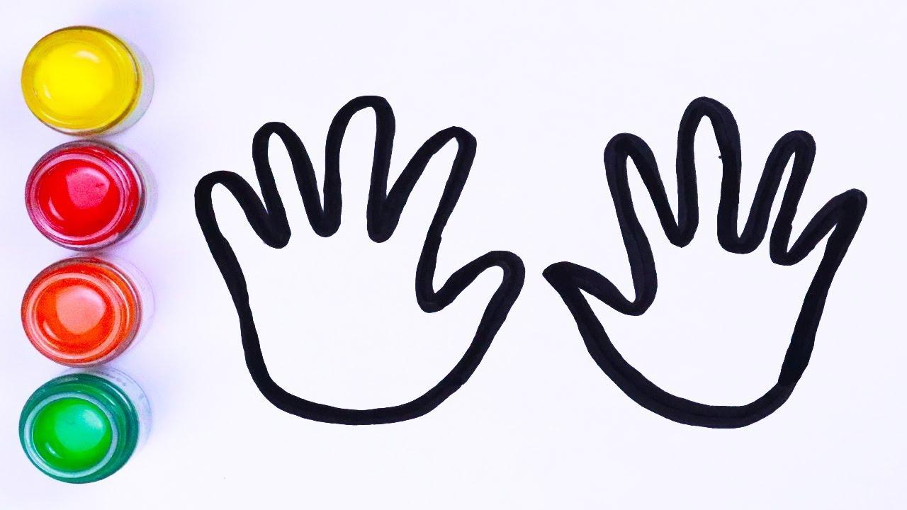 Bagaimana Menggambar Dua Tangan