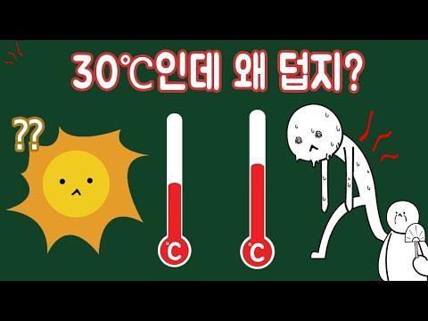 왜 체온보다 낮은 온도에서 더위를 느낄까? [ENG/JPN SUB]