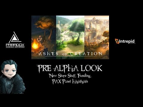 Ashes of Creation Pre-Alpha look: April Store Update, Funding, PAX Panel Highlights