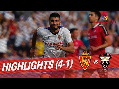 Resumen de Real Zaragoza vs Albacete Balompié (4-1)