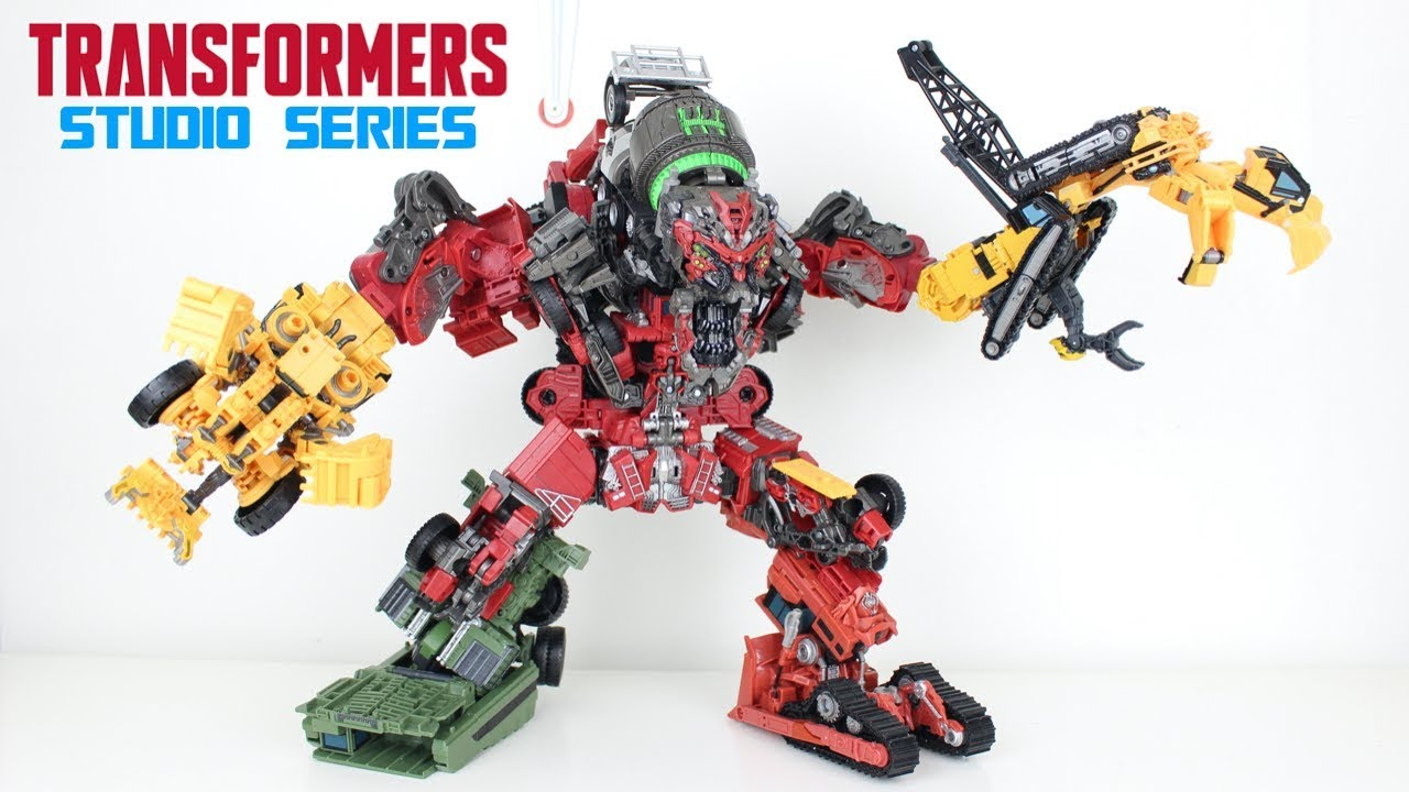 Transformers Studio Series COMBINED Devastator Review by PrimeVsPrime
