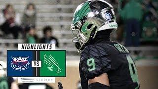 Florida Atlantic vs. North Texas Football Highlights (2018) | Stadium