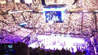 Introduction at Rupp Arena for Kentucky vs UCLA Basketball