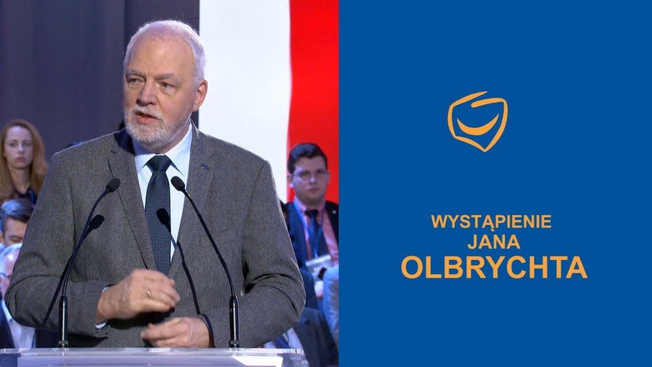 Wystąpienie Jana Olbrychta, Rada Krajowa PO, Warszawa, 24.02.2018