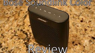 Best Wireless Speaker?? - Bose Soundlink Color Review