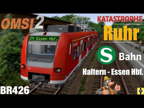 OMSI 2 [60 FPS] - RUHR S-BAHN S9 BR426 nach ESSEN Hbf. - Let's Play Omsi 2 [#449]: