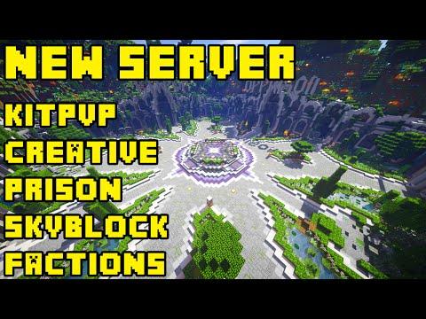 My Minecraft Server: Prison/Kit PVP/Factions/Creative/Skyblock