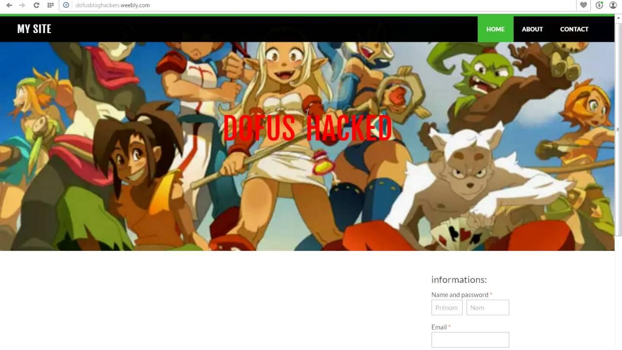 Dofus: How to Hack Dofus account!