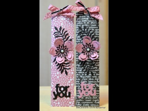 No.204 - Nail File Gift Wallet - JanB UK Stampin' Up! Demonstrator Independent