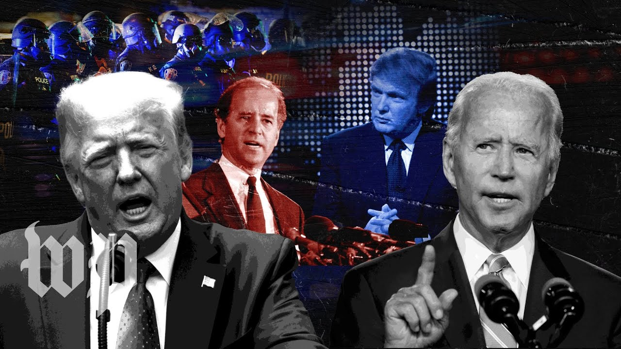 Joe Biden and Donald Trump's history on race
