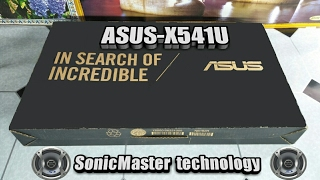 ASUS VivaBook Max X541U-A Unboxing and OverLook!!!!आसुस लैपटॉप hindi ,urdu,english
