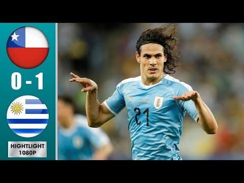 Чили - Уругвай  0:1 обзор матча 24.06.2019 кубок америки