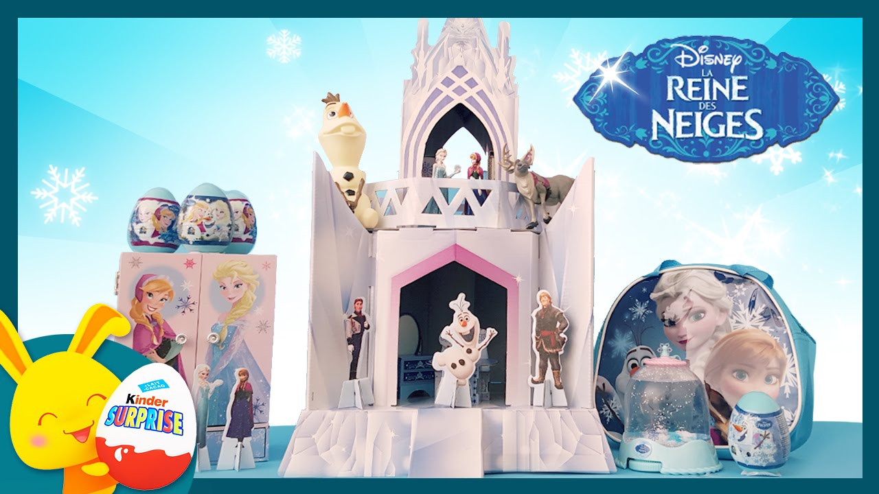 le ch teau de la reine des neiges jouets pour enfants titounis youtube. Black Bedroom Furniture Sets. Home Design Ideas