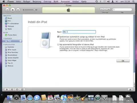 Hvordan får jeg min musik over på min iPod?
