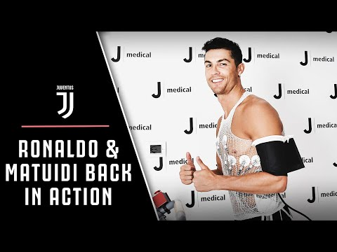 RONALDO AND MATUIDI | Return for Juventus pre-season training!