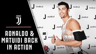 RONALDO AND MATUIDI | Return for Juventus pre-season training!