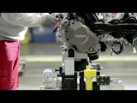 New Multistrada 1200 - Assembly video