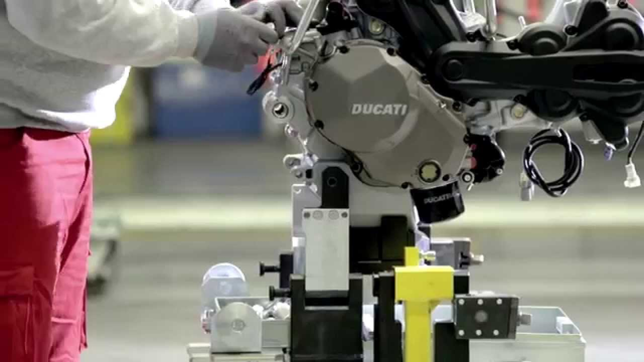 画像: New Multistrada 1200 - Assembly video youtu.be