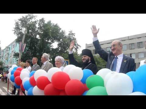Видео, День города Комсомольск-на-Амуре 2013 весело было