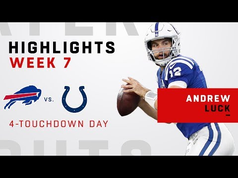 Andrew Luck Highlights vs. Buffalo