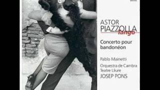 Astor Piazzolla   Concierto para bandoneón y orquesta    III. Presto