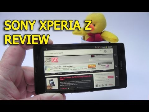 Sony Xperia Z Review (5 Inch Full HD Flagship Smartphone, Exmor RS Camera) - GSMDome.com
