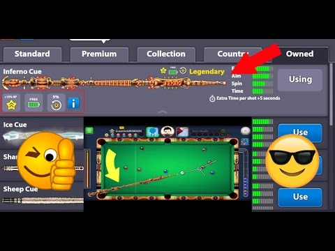 How To Get Legendary Inferno Cue | No Root 100% Working With Proof | ANDROID/IOS 2017