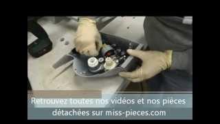 Remplacement moteur+pignon trancheuse Magimix