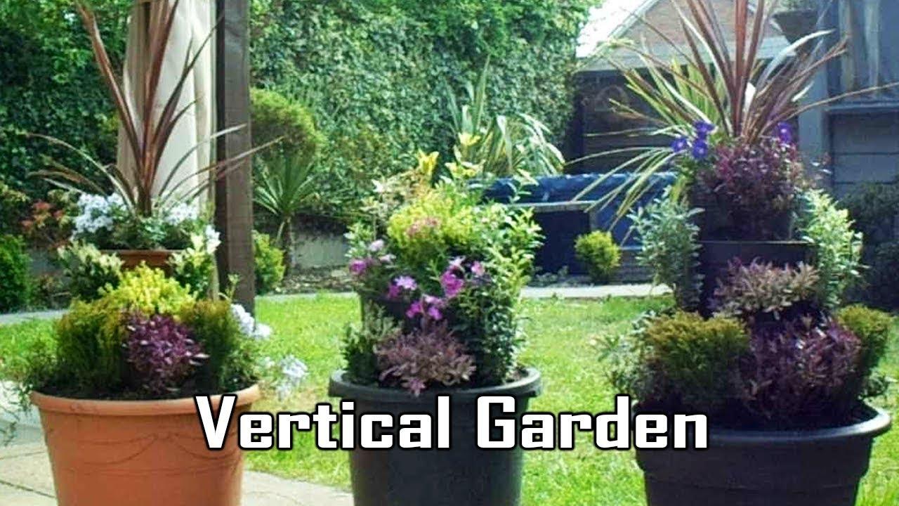 Vertical Garden, Raised Multi-tier Used Plant Pot Tower ...