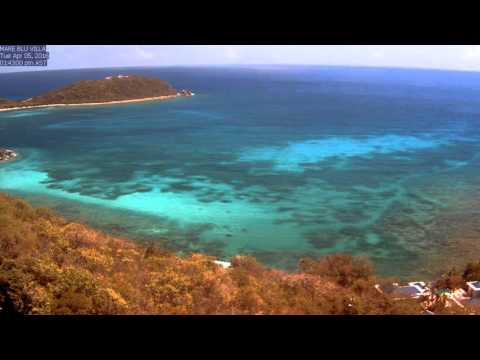 St. John Rendezvous Bay, April 2016 Time Lapse