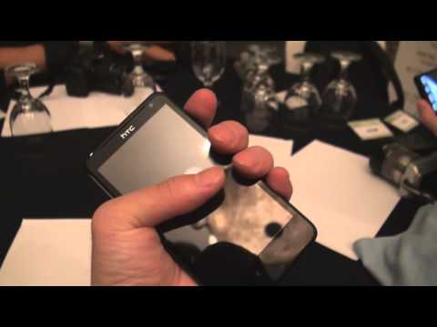 HTC Raider 4G 외형 자세히