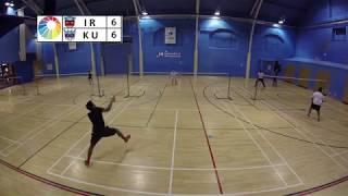 DC Badminton 22/04/2018 - Game 2: KU vs IR (HAWK-EYE)