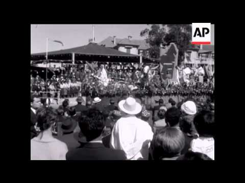 MADAGASCAR FIRST INDEPENDENCE CELEBRATION - NO SOUND