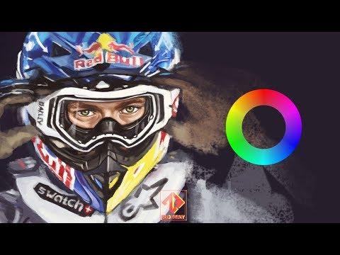 Speed Digital Painting – Levi Sherwood (Photoshop)