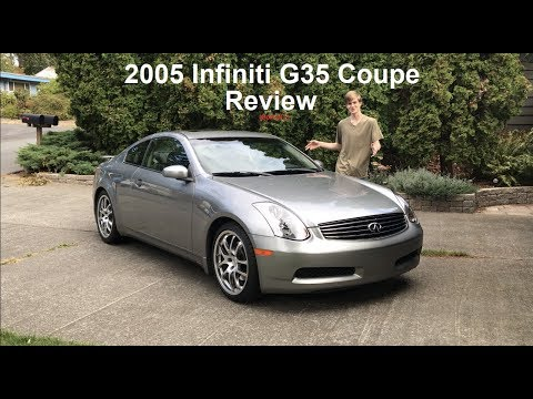 Review Of The Most Expensive Infiniti From 2005 G35 Coupe